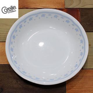 コレール(CORELLE)の名品!【Corelle】モーニングブルー深皿5枚 送料込(食器)