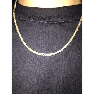 シルバー 925 ベネチアンネックレス 50cm(ネックレス)