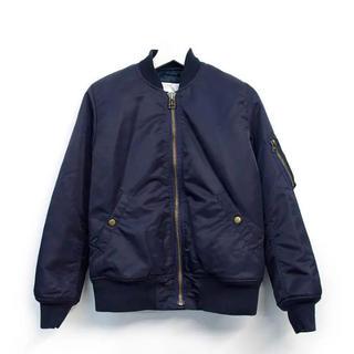 エルフォーブル(ELFORBR)の雑誌掲載 完売品 エルフォーブル MA-1ジャケット ネイビー36(ブルゾン)