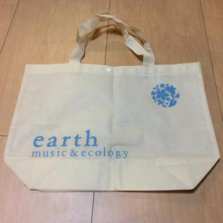 アースミュージックアンドエコロジー(earth music & ecology)のアースミュージック&エコロジー  不織布 ショッパー(ショップ袋)