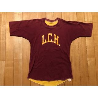ザリアルマッコイズ(THE REAL McCOY'S)のリアルマッコイズ 半袖Tシャツ サイズ36(Tシャツ/カットソー(半袖/袖なし))
