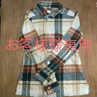 パタゴニア(patagonia)のお客様様専用patagoniaフランネルシャツ(シャツ/ブラウス(長袖/七分))