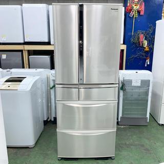 パナソニック(Panasonic)の⭐︎Panasonic⭐︎冷凍冷蔵庫 470L 自動製氷美品 大阪市近郊配達無料(冷蔵庫)