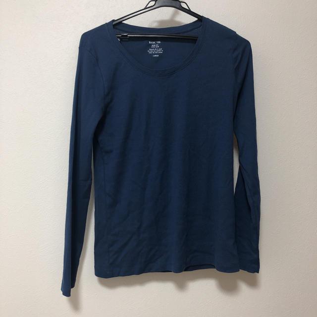 GU(ジーユー)のGUシンプルトップス レディースのトップス(Tシャツ(長袖/七分))の商品写真