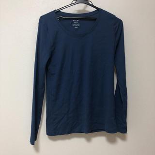 ジーユー(GU)のGUシンプルトップス(Tシャツ(長袖/七分))