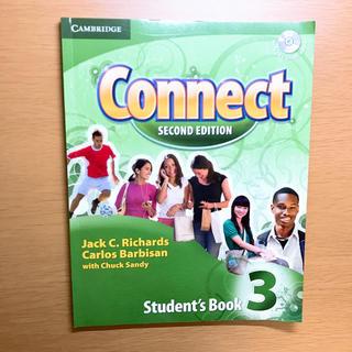 コネクト(connect)のCAMBRIDGE Connect SECOND EDITION 3 CD付き(参考書)