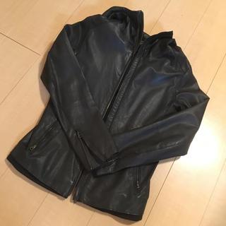 チャオパニック(Ciaopanic)のレザージャケット/フード付/ブラック/チャオパニック(レザージャケット)