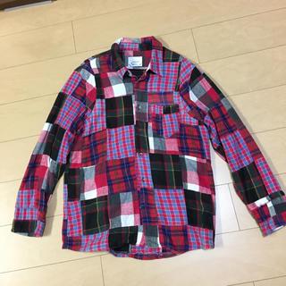 グッドイナフ(GOODENOUGH)のwith limitedパッチワークシャツ(シャツ)