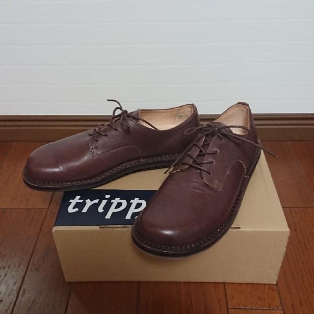 trippen(トリッペン)の未使用 トリッペン/Sprint f/ブラウン/39(24.5~25.0㎝) レディースの靴/シューズ(ローファー/革靴)の商品写真