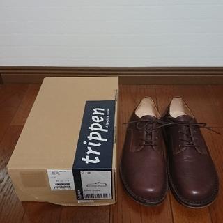 トリッペン(trippen)の未使用 トリッペン/Sprint f/ブラウン/39(24.5~25.0㎝)(ローファー/革靴)