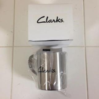 Clarks ロゴ入り ステンレスマグカップ