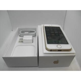 アップル(Apple)の大幅値下!! SIMフリー iPhone SE 128GB ゴールド 箱付き(スマートフォン本体)