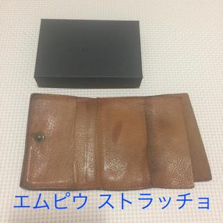77b35b53969c エムピウ(m+)のエムピウ ゴート ストラッチョ(折り財布)