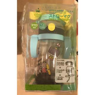 ディズニー(Disney)の2way 新品未使用 ストローマグ ディズニー ミッキー 子供 ベビー用品 水筒(マグカップ)