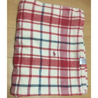 ラルフローレン(Ralph Lauren)のラルフローレン 厚手ウールブランケット(毛布)