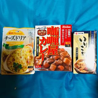 ハウスショクヒン(ハウス食品)のカリー屋カリー☆ヤマキいりこだし☆チーズドリアのセット(レトルト食品)