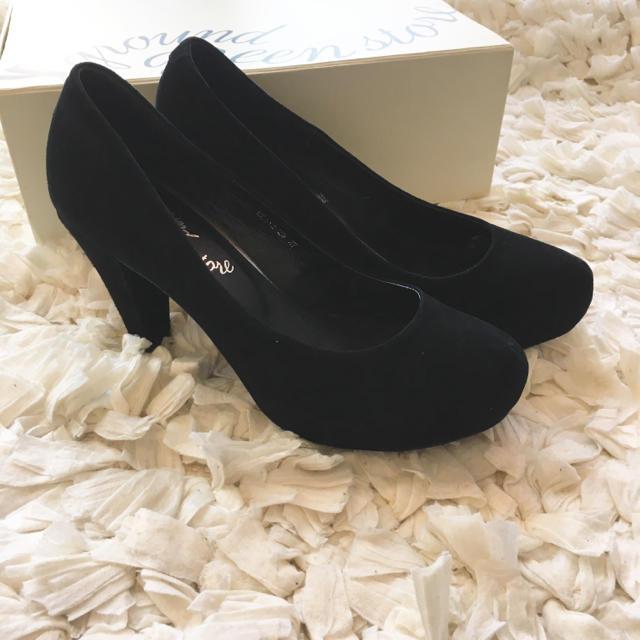 ORiental TRaffic(オリエンタルトラフィック)の【確認用】ground green store スエードパンプス レディースの靴/シューズ(ハイヒール/パンプス)の商品写真