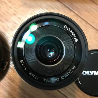 オリンパス(OLYMPUS)のM.ZUIKO DIGITAL 17mm f1.8  3kikiMan様専用(レンズ(単焦点))