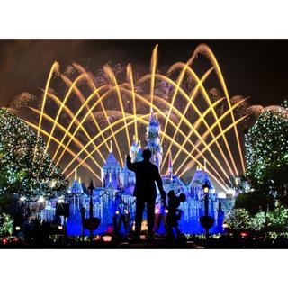 ディズニー(Disney)の【新品未使用】城 アートポスター ディズニー A3サイズ 額付き(アート/写真)