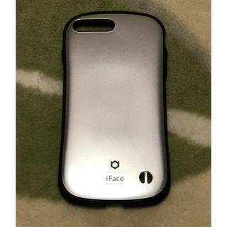 iface iPhone8 plus iPhone7 plus用 シルバー(iPhoneケース)