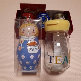 値下げしました!【新品】カレルチャペック紅茶店☆紅茶二点とジャグの三点セット(茶)
