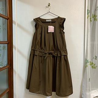 クチュールブローチ(Couture Brooch)のクチュールブローチ 切り替えワンピース(ひざ丈ワンピース)