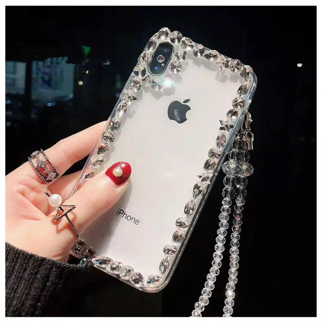 IPHORIA - キラキラ インポート iPhone case 海外セレブ 韓国 シンプルの通販 by 🌜Twilight🌛|アイフォリアならラクマ