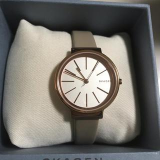 スカーゲン(SKAGEN)のスカーゲン レディース 腕時計 ピンクゴールド(腕時計)