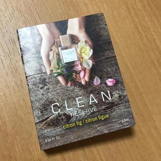 クリーン(CLEAN)のクリーン リザーブ シトロンフィグ オードパルファム 1.5ml(香水(女性用))
