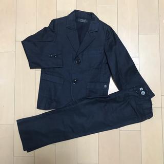 エーキャンビー(A CAN B)のエーキャンビーグリスフランネル男児フォーマルスーツ120(ドレス/フォーマル)