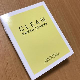 クリーン(CLEAN)のクリーン フレッシュリネン オードパルファム 1.5ml(香水(女性用))