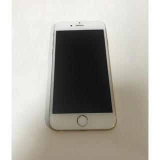 アイフォーン(iPhone)のiPhone 6  Gold 128 GB docomo 充電器付き(スマートフォン本体)