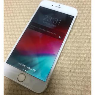 アイフォーン(iPhone)のiphone6 ゴールド 中古 キャリア不明(docomoで使用可能)(スマートフォン本体)