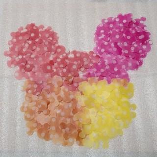 ディズニー(Disney)のミッキー クラフトパンチ  400枚☆ フラワーシャワー Disney (その他)