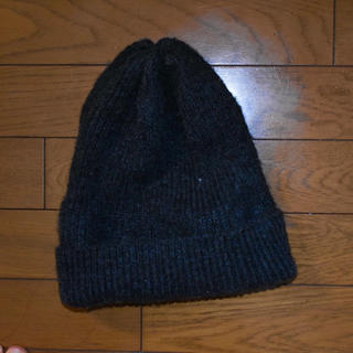 エイチアンドエム(H&M)のH&Mニット帽 グレー(ニット帽/ビーニー)