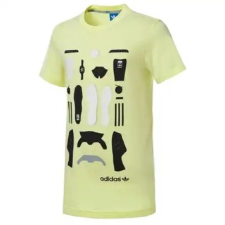 アディダス(adidas)のadidas originals Tシャツ イエロー(Tシャツ/カットソー(半袖/袖なし))