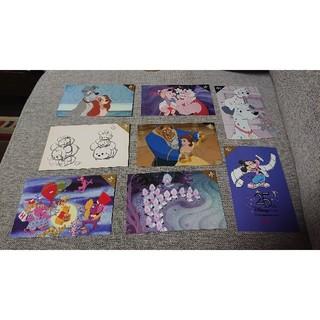 ディズニー(Disney)のディズニー25周年ポストカード★8枚セット2️⃣(写真/ポストカード)