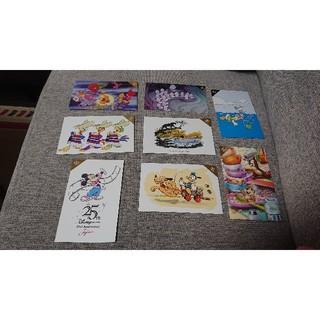 ディズニー(Disney)のディズニー25周年ポストカード★8枚セット6️⃣(写真/ポストカード)