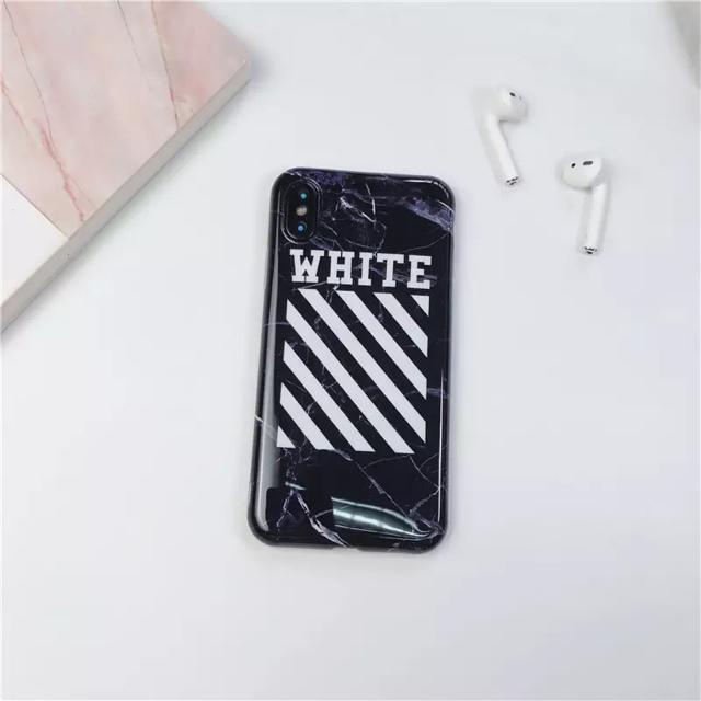 iphonexr ケース プラダ | OFF-WHITE - ストリートiPhoneケースの通販 by ポケモンshop|オフホワイトならラクマ