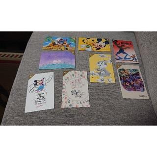 ディズニー(Disney)のディズニーポストカード★8枚セット8️⃣(写真/ポストカード)