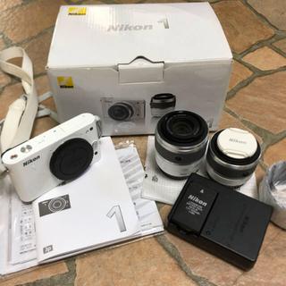 Nikon - Nikon ミラーレス一眼カメラ Nikon 1 ダブルレンズセット