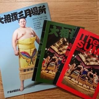 2019大相撲三月場所パンフレット(相撲/武道)
