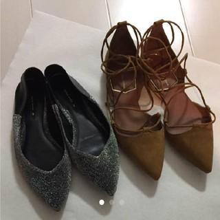 ザラ(ZARA)のZARA 靴 2足セット(ハイヒール/パンプス)