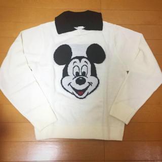 ディズニー(Disney)の【美品】ミッキーマウス ニット  size F(ニット/セーター)