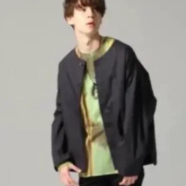 HARE(ハレ)のHARE シャツ ノーカラーカバーオール メンズのジャケット/アウター(ノーカラージャケット)の商品写真