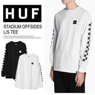 新品 lサイズ 白 ロンt 長袖tシャツ HUF