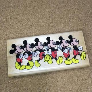 ディズニー(Disney)のミッキー スタンプ 行進 はんこ(はんこ)