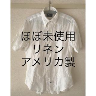 インディヴィジュアライズドシャツ(INDIVIDUALIZED SHIRTS)のアメリカ製時代のラルフローレンのファクトリー アイクベーハー ほぼ未使用(シャツ)