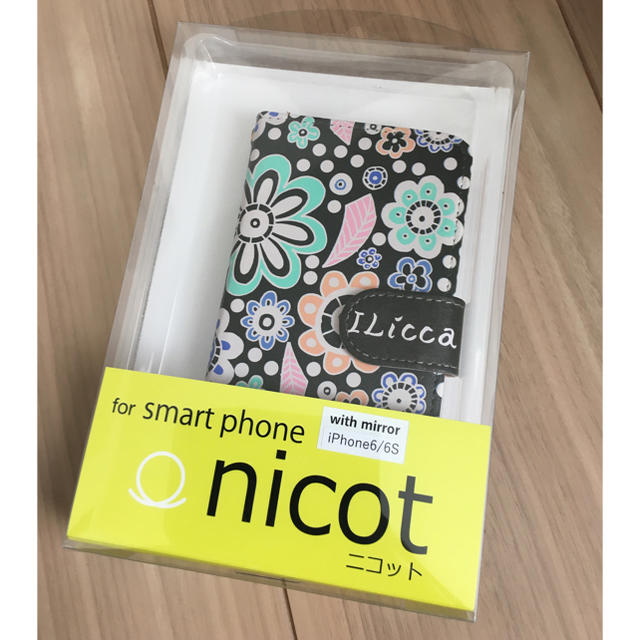 かわいい iphonexs ケース tpu | 未使用☆ILicca  iPhone6.6S カバーの通販 by  発送の件 ルーク's shop |ラクマ
