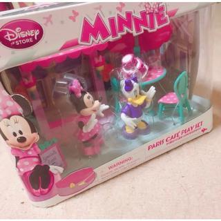 ディズニー(Disney)の新品未開封 ミニー ディジー カフェ フィギュア セット15日まで値下げ(その他)